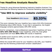 image of Use SEO to Improve website visibility headline